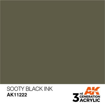 Sooty Black INK 17ml
