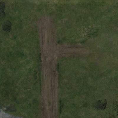 The Walking Dead: Deluxe Mat THE FARM