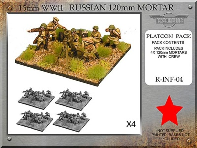 Russian 120mm Mortar Platoon (4)