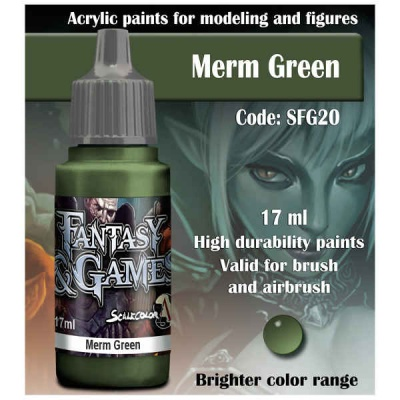 Scalecolor Fantasy 20 Merm Green (17ml)