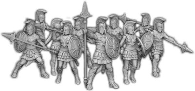 Ilios Guard, Oplites of Ilios Command Unit (10)