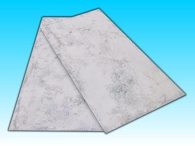 2 Flächen ''Schnee'' 25 x 50 cm