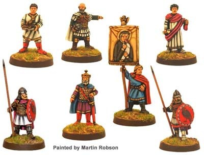 Emperor and Retinue (7 figs)