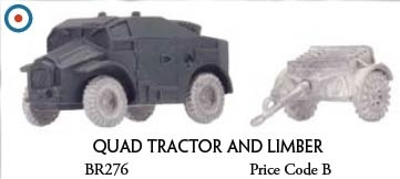 Quad Tractor and Limber