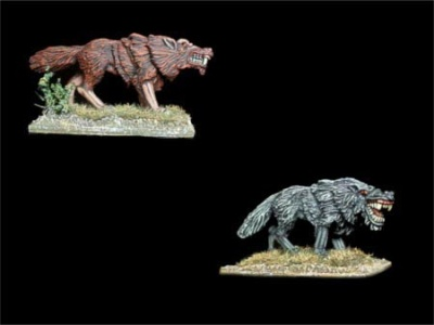 Giant Wolves