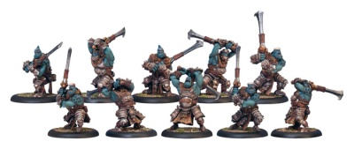 Trollblood Fenn Blade Unit Box (10 Plastic Models)