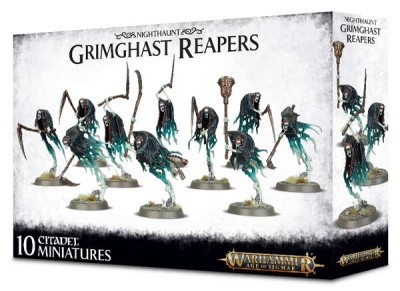 Nighthaunt: Grimghast Reapers