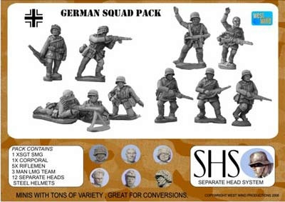GERMAN INFANTRY SQUAD 1944