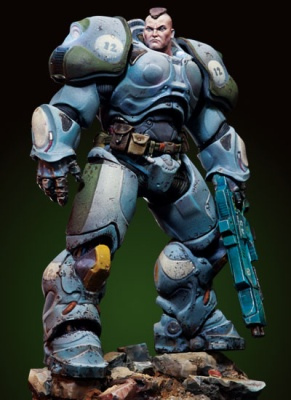 Sgt. Connor, Serpentian Heavy Infantry