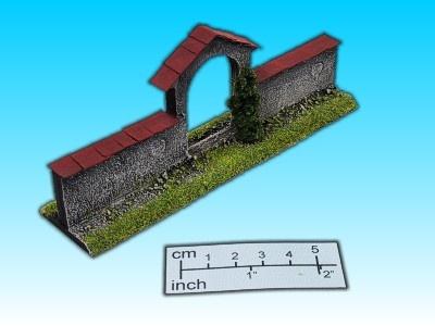 Geländestück Tor