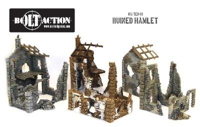Ruined Hamlet (Plastic) (3)