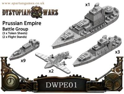 Prussian Empire Battle Group (15 Models) (OOP)