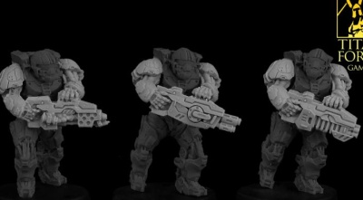 Terra Marines weapon upgrade set