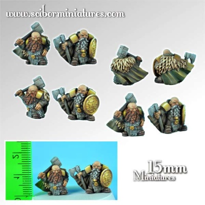 15mm Dwarves Lords (2)