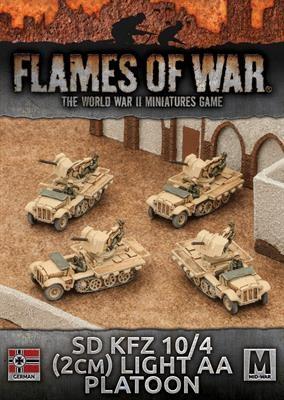 Sd Kfz 10/4 (2cm) Light AA Platoon (4)