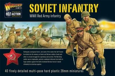 Red Army - Soviet Infantry Boxed Set (Plastik) (40)