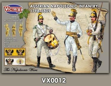 Austrian infantry 1798-1809