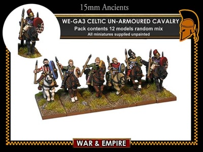 Celtic Unarmoured Cavalry