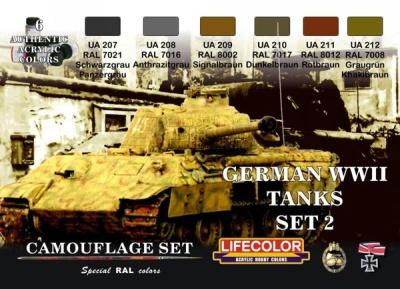 """Camouflage Set II """"Deutsche Panzer WWII"""""""