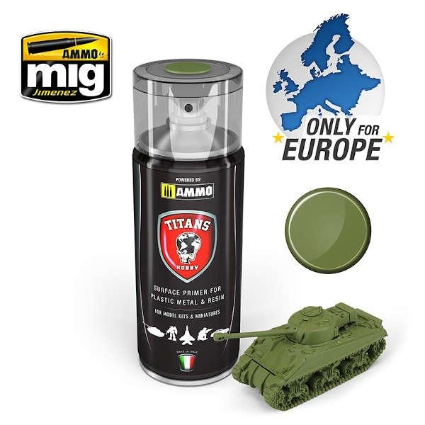 Military Green Matt Primer (400ml)
