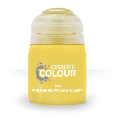 Sigismund Yellow CLEAR (Air)