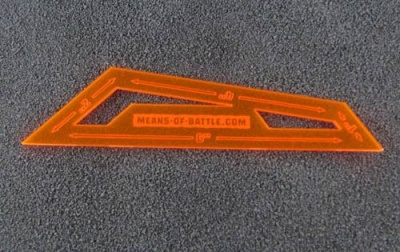 Tactical Template (neon orange)