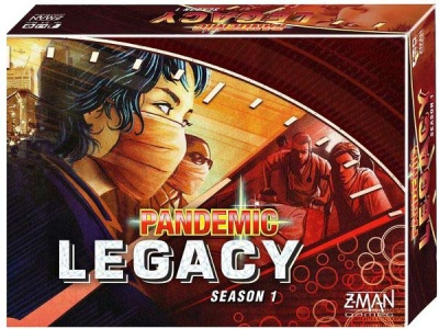 Pandemic: Legacy - Season 1 (Red Version) - EN
