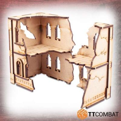 Ruined Modular Casa Doppia Quieta