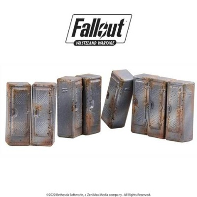 Fallout: Terrain Expansion: Vault Tec Lockers