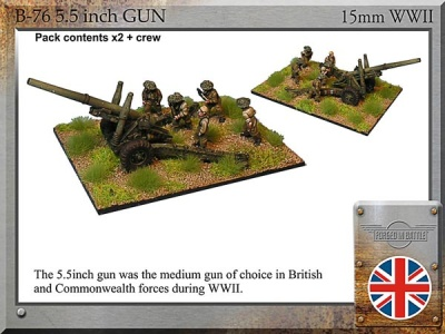 5.5inch guns & Crew (2)
