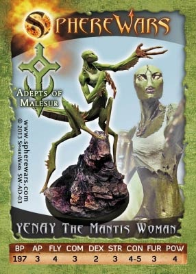 Yenay The Mantis Woman (1)