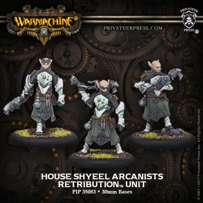 Retribution Unit House Shyeel Arcanists (3)