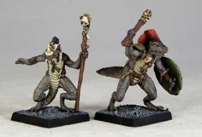 Troglodyte Chieftain & Shaman (2)