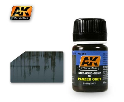 Streaking Grime for Panzer Grey
