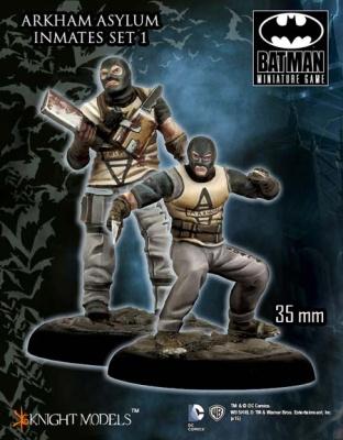 Arkham Asylum Inmates Set 1 (2)