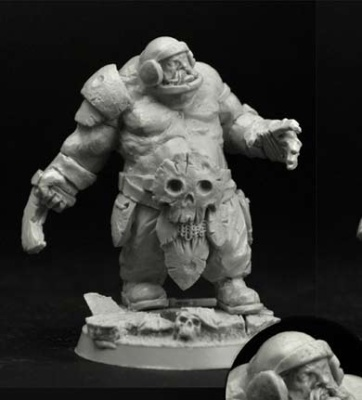 28mm/30mm Ogre Football Player #3