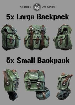 Mixed Backpacks (5+5)