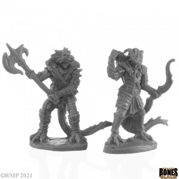 Dragonfolk Fighter and Ranger (2)