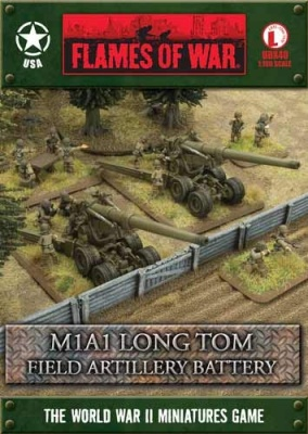 M1A1 Long Tom Field Artillery Battery