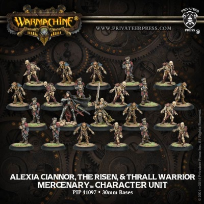Mercenary Alexia Ciannor & The Risen Unit Box (22)