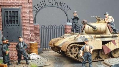 Deutsche Panzerbesatzung Set I (5)