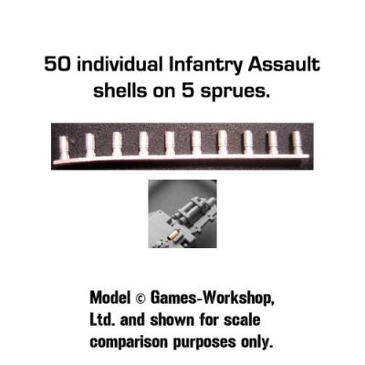 Spent Shell Castings:Infantry Assault (50)