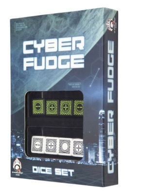Cyber Fudge 4 Black & Green + 4 White