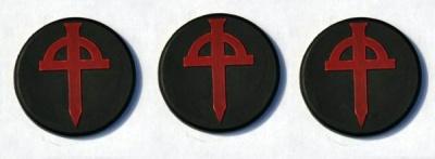Dark Legion Objective Markers (3)