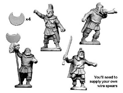 Thracian Tribesmen Command (4)