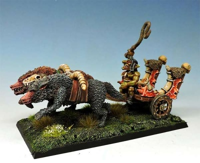 Black goblins chariot + driver
