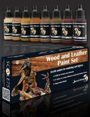 Scale 75: Wood Paint Set (8)