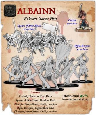 Albainn Gairlom Infantry Starter Host