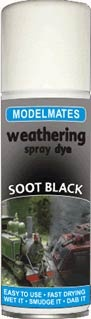 Soot Black Weathering Spray