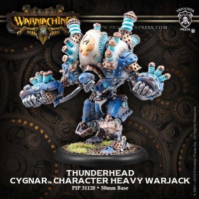 Cygnar Character Heavy Warjack Thunderhead